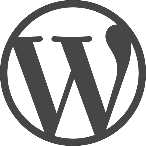 Logo site WordPress sécurité et maintenance